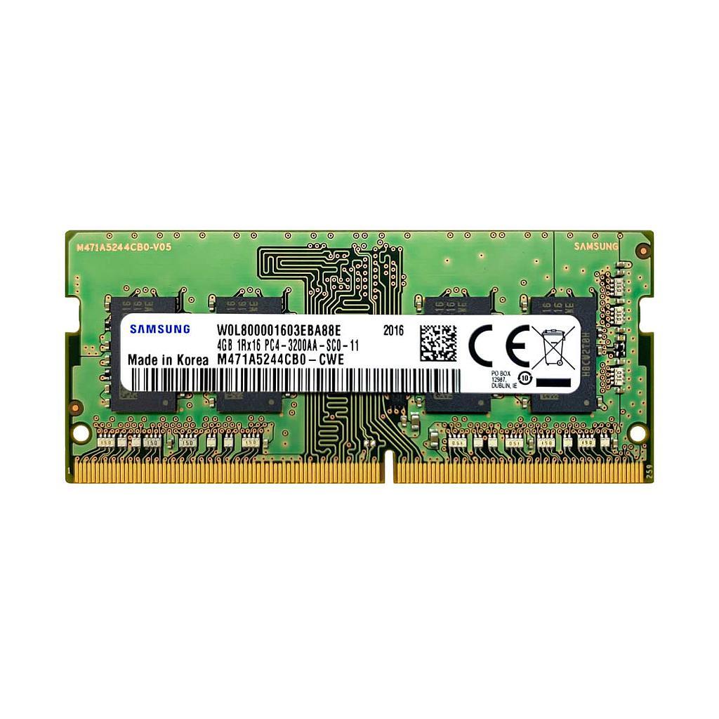 Samsung 4GB DDR4 3200Mhz 1Rx16 Laptop RAM