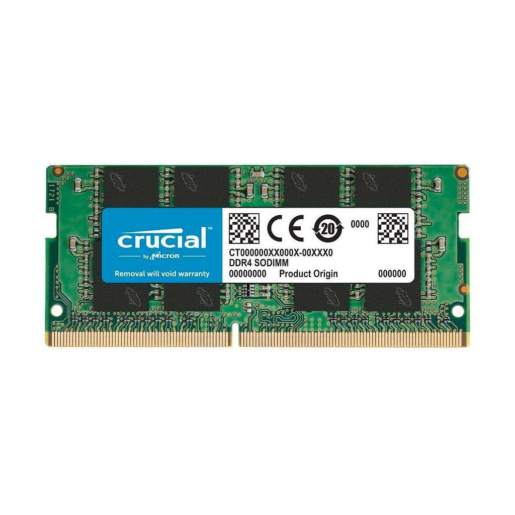 Crucial DDR4 16GB 2666Mhz Laptop RAM