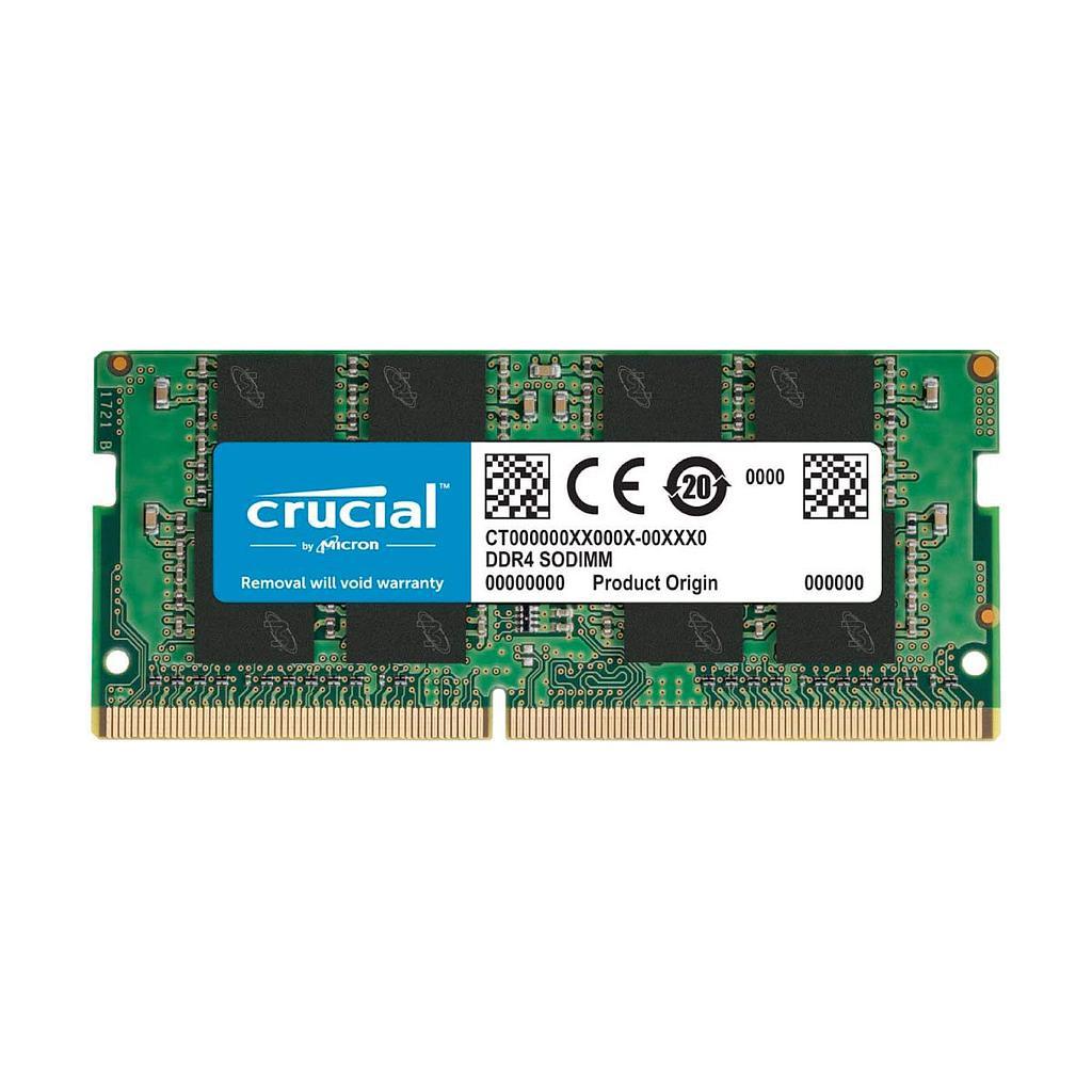 Crucial DDR4 4GB 2666MHz Laptop RAM