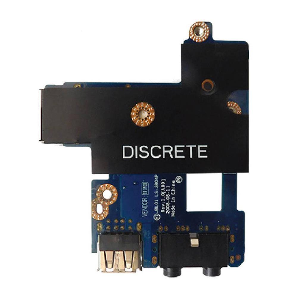Dell Latitude E6400 Audio Ethernet USB Port Board|Laptop Spare
