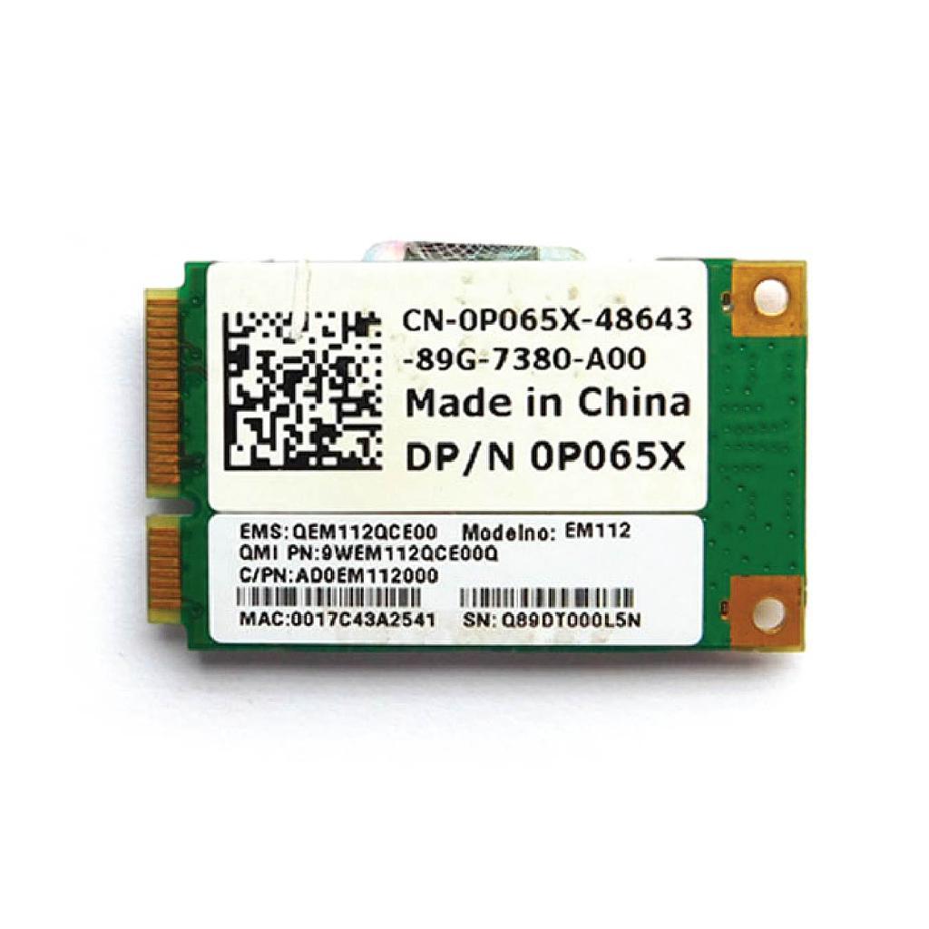 Dell Vostro Wireless WIFI Mini PCIe Card For A860 Laptop