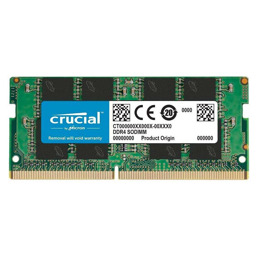 Crucial DDR4 8GB 2666MHz Laptop RAM