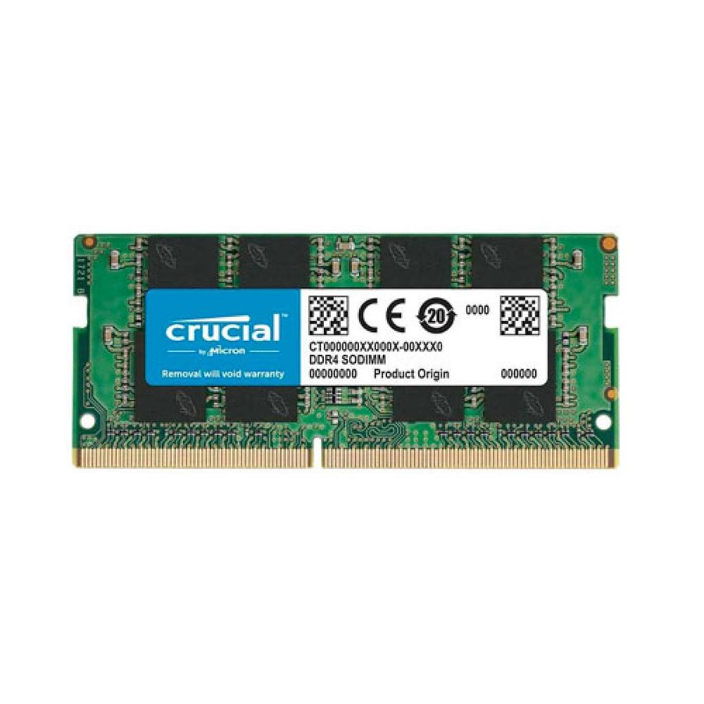 Crucial 16GB DDR4 2666MHz Laptop RAM