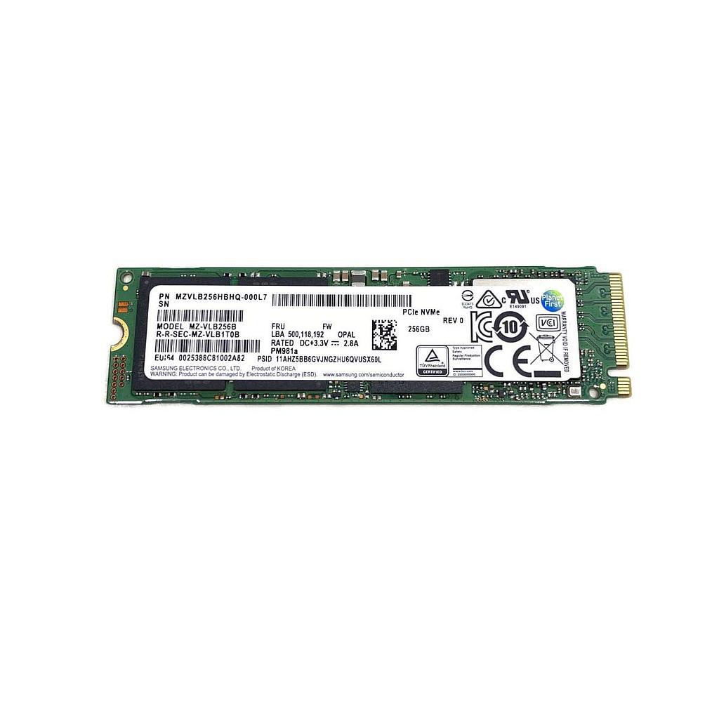 Samsung MZ-VLB256B 256 GB PCLe SSD