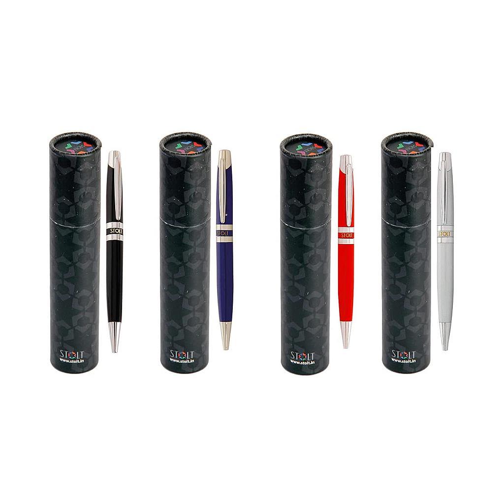 STOLT - Ample - Metal Ball Point Pen Set of 4